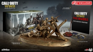 Presentada la edición de coleccionista Valor Collection de Call of Duty: WWII / Habrá una variante Pro, disponible solo en PC.