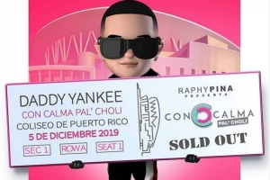 Daddy Yankee sold out