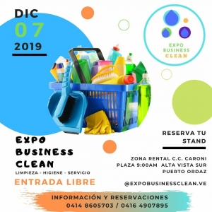 "1RA EXPO BUSINESS CLEAN ""Limpieza, Higiene y Servicio"""